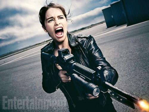 Emilia Clarke Terminator Genisys Entertainment Weekly November 7 2014