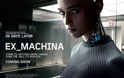Ex Machine movie poster