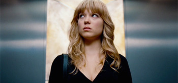 Lea Seydoux Elevator Mission Impossible 4