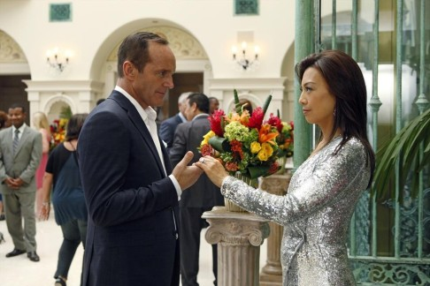 Clark Gregg Ming-Na Wen Agents S.H.I.E.L.D. I Will Face My Enemies