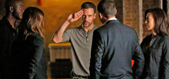 Nick Blood Agents of S.H.I.E.L.D. Heavy is the Head