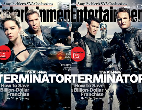 Terminator Genisys  Entertainment Weekly covers November 7 2014