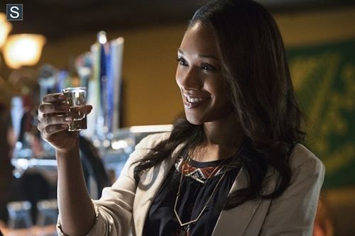 Candice Patton The Flash Plastique