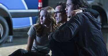 Danielle Panabaker Tom Cavanagh Carlos Valdes The Flash