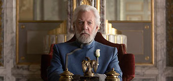 Donald Sutherland The Hunger Games Mockingjay Part 1