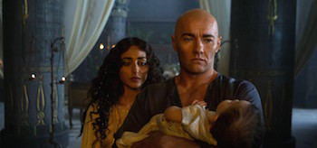 Joel Edgerton Golshifteh Farahani Exodus Gods and Kings