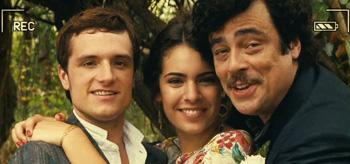 Josh Hutcherson Benicio Del Toro Claudia Traisac Escobar Paradise Lost