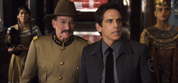 Robin Williams Ben Stiller Night at the Museum Secret of the Tomb