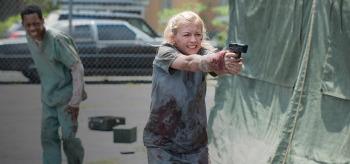 Tyler James Williams Emily Kinney The Walking Dead Slabtown