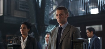 Zabryna Guevara Ben Mckenzie Gotham Penguin's Umbrella