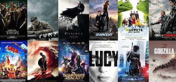 2014 Movie Posters