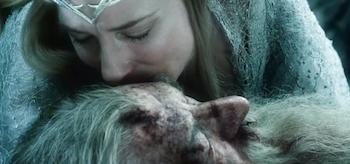 Cate Blanchett Ian McKellan The Hobbit The Battle of the Five Armies