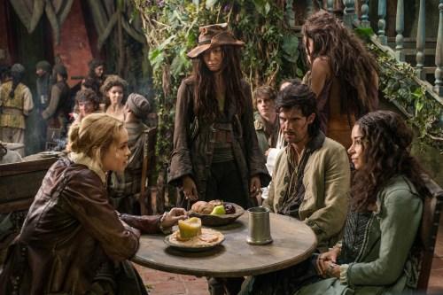 Hannah New Jessica Parker Kennedy Toby Schmitz Clara Paget Black Sails Season 2 IX