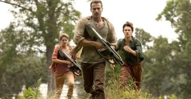 Shailene Woodley Theo James Ansel Elgort The Divergent Series Insurgent
