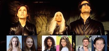 Actors Screen Testing X-Men Apocalypse