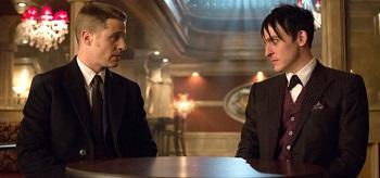 Ben Mckenzie Robin Lord Taylor Gotham Welcome Back Jim Gordon 01 350x164