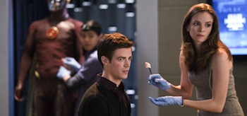Grant Gustin Danielle Panabaker The Flash Fastest Man Alive