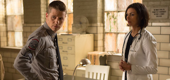 Jim Gordon and Leslie Thompkins