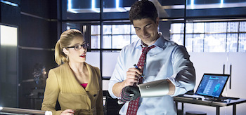 Ray Palmer Felicity Smoak
