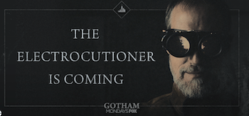 The Electrocutioner Gotham