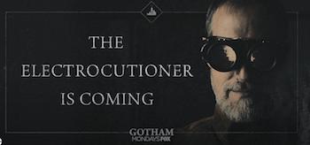 The Electrocutioner Gotham