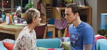 Kaley Cuoco Jim Parsons The Big Bang Theory The Intimacy Acceleration