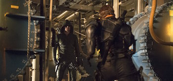 Arrow vs Deathstroke