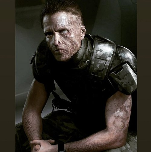 Dwayne Hicks Neil Blomkamp Alien Concept Art