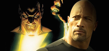 Dwayne Johnson Black Adam Shazam