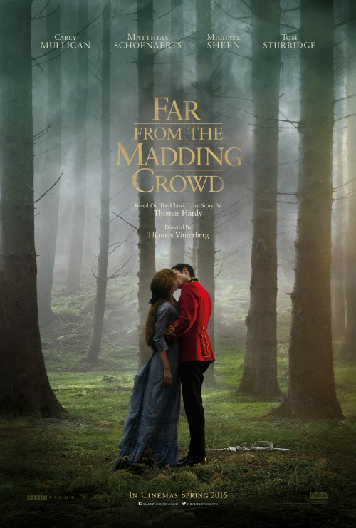 Far From the Madding Crowd movie poster