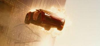 Flying Car Furious 7