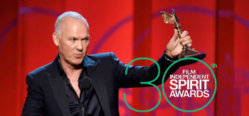 Michael Keaton Film Independent Spirit Awards 2015 Logo