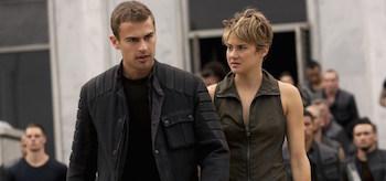 Shailene Woodley Theo James The Divergent Series Insurgent