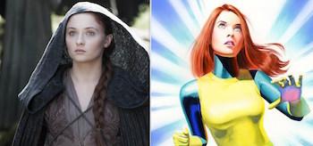 Sansa Stark Jean Grey
