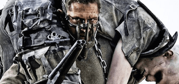 Tom Hardy Nicholas Hoult Mad Max Fury Road