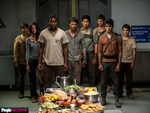 Alexander Flores Kaya Scodelario Thomas Brodie-Sangster Ki Hong Lee Dylan O'Brien Maze Runner The Scorch Trials