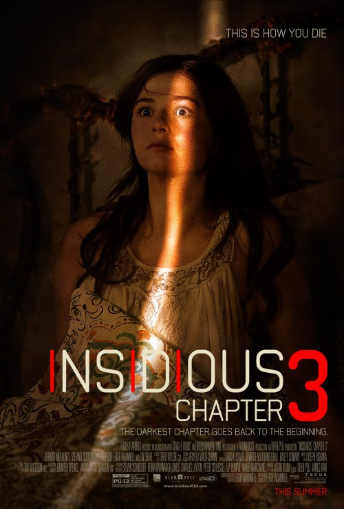 Insidious Chapter 3 movie poster 2