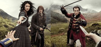 Outlander Season 1 Part 2 TV show posters