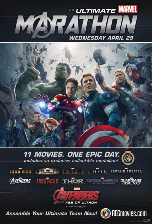 The Ultimate Marvel Marathon 2 Poster
