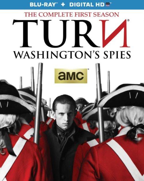 TURN Washingtons Spies Season 1 Bluray