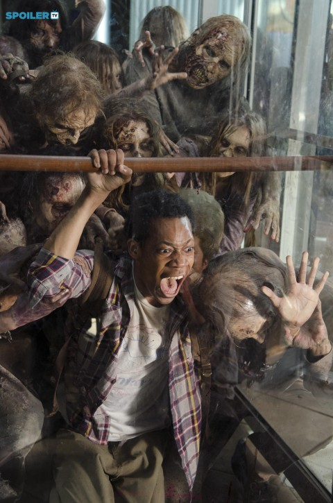 Tyler James Williams The Walking Dead Spend