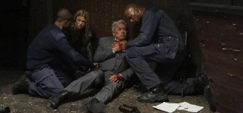 Adrianne Palicki Edward James Olmos Henry Simmons Agents of S.H.I.E.L.D. One Door Closes