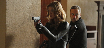 Adrianne Palicki Nick Blood Agents of SHIELD