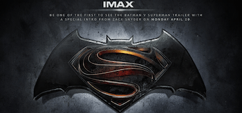 Batman v Superman IMAX Teaser