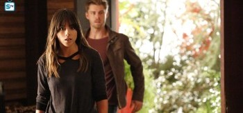 Chloe Bennet Luke Mitchell Agents of S.H.I.E.L.D. Afterlife