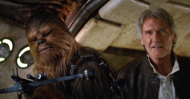 Harrison Ford Peter Mayhew Star Wars The Force Awakens