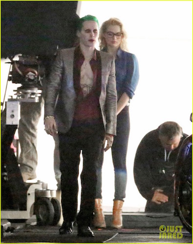 Jared Leto The Joker Margot Robbie Harley Quinn Suicide Squad