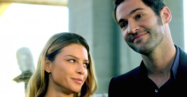 Lauren German Tom Ellis Lucifer