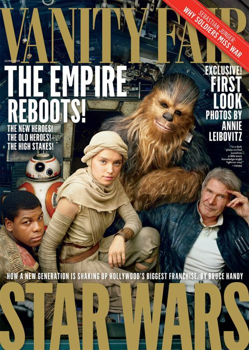 Star Wars The Force Awakens Vanity Fair Cover June 2015