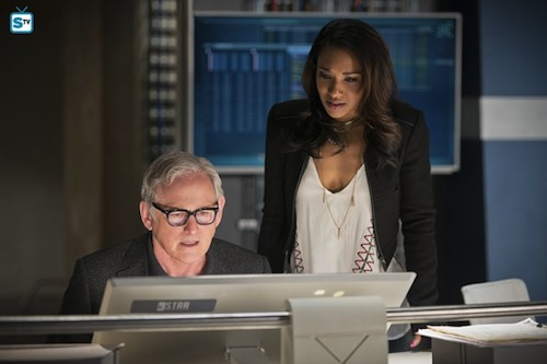 Victor Garber Candice Patton The Flash